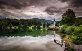 Picture nature, lake, Park