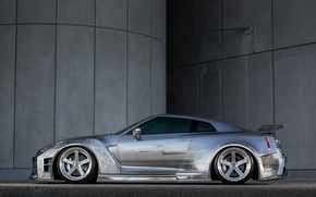 Picture GTR, Nissan, side, Racing, view, Kuhl