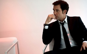 Picture look, watch, costume, actor, male, producer, Clive Owen, Clive Owen
