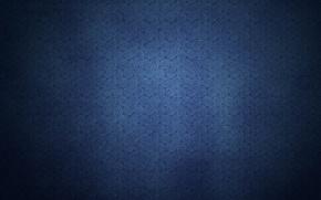 Picture blue, spiral, patterns