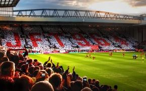 Wallpaper England, Football, Football, Premier League, Stadium, Stadium, Liverpool, Gerrard, Liverpool, Anfield, England, YNWA, Anfield Road, ...