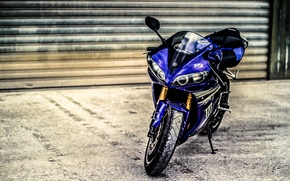 Picture Yamaha, Motorcycles, old