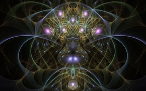 Picture abstraction, fractal, composition, Wallpaper from lolita777