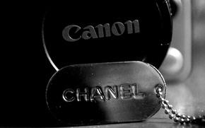 Picture monochrome, canon, chanel