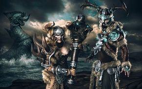 Picture art, the Vikings, Guild Wars