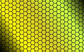 Picture texture, cell, figure, art, hexagon, face