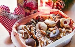 Picture new year, Christmas, cookies, sweets, christmas, sweet, candies, cookies, Czech Republic, tasty