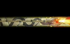 Picture Dragon, Flame, Art, Black, Texture, Wallpaper, The Wallpapers, Counter-Strike: Global Offensive, CS GO, AWP, Counter …