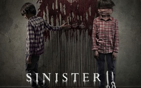 Picture cinema, blood, wall, panic, devil, boy, boys, movie, fear, evil, body, film, clown, Sinister, 2015, …