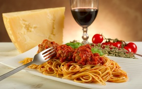 Picture wine, food, cheese, tomatoes, wine, tomatoes, cheese, pasta, meal, pasta