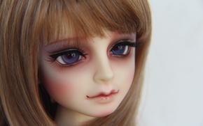Picture doll, blue eyes, doll, BJD, arnima doll