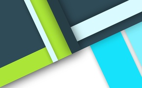 Picture line, geometry, color, material, desing