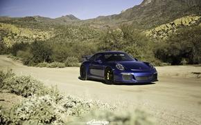Picture 911, Porsche, road, GT3