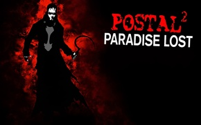 Picture background, the darkness, glasses, cloak, hammer, POSTAL 2: Paradise Lost, Dude, Postal 2: Paradise Lost, …