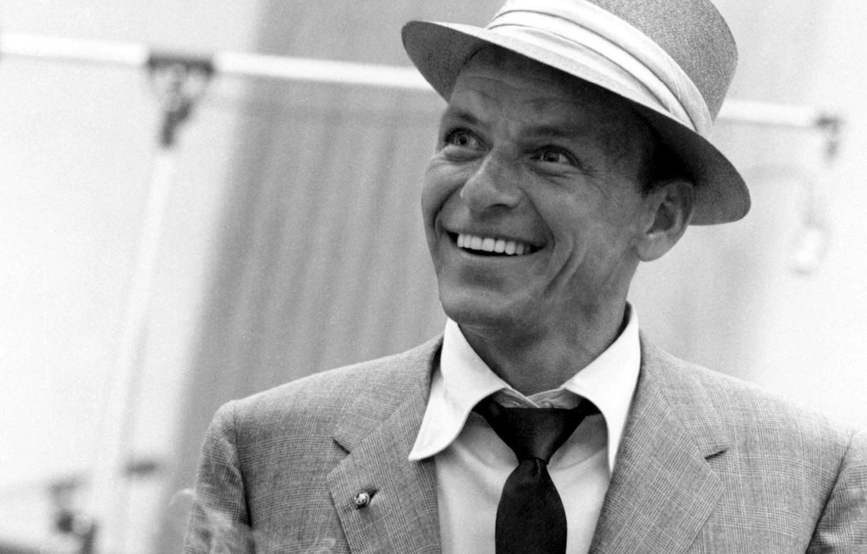 Photo wallpaper retro, actor, blue eyes, legend, best, singer, Frank Sinatra, Francis Albert Sinatra, the generation, sinatra, …