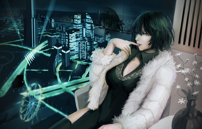 Wallpaper Girl The City Anime Art Fubuki One Punch Man Images