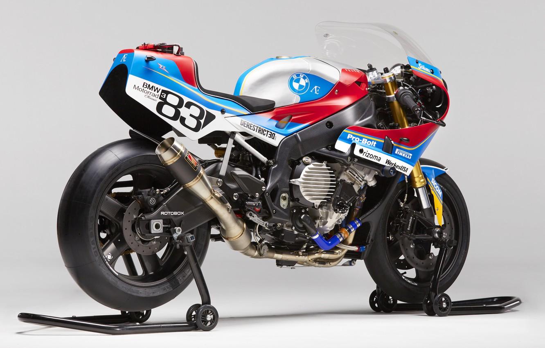 Photo wallpaper BMW, moto, bike, motorcycle, custom, sportbike, s1000rr, motorrad, PRAËM