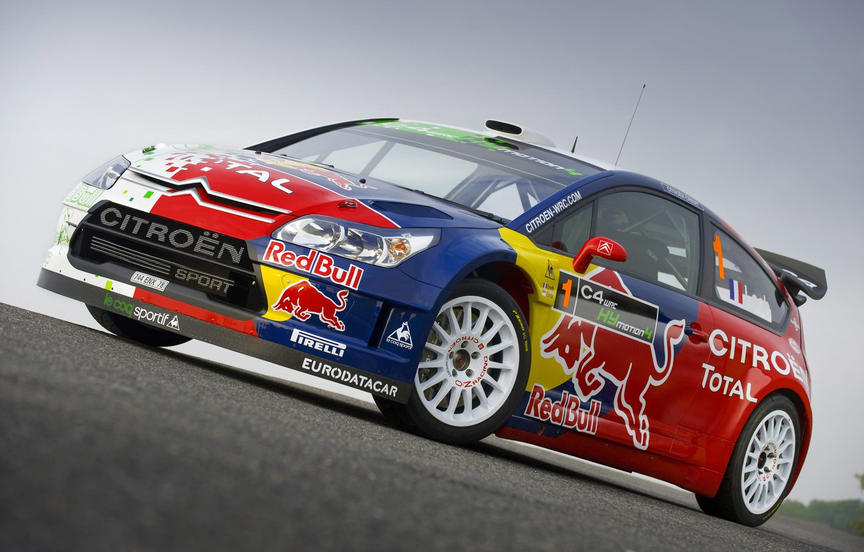 Photo wallpaper Citroen, rally, rally, Loeb, WRC