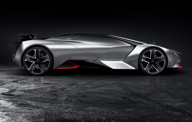 Photo wallpaper Concept, Gran Turismo, Peugeot Vision, Peugeot GT
