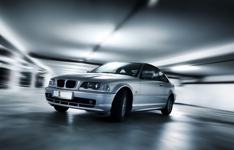 Photo wallpaper machine, BMW, effects