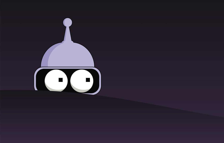 Wallpaper robot, futurama, Bender