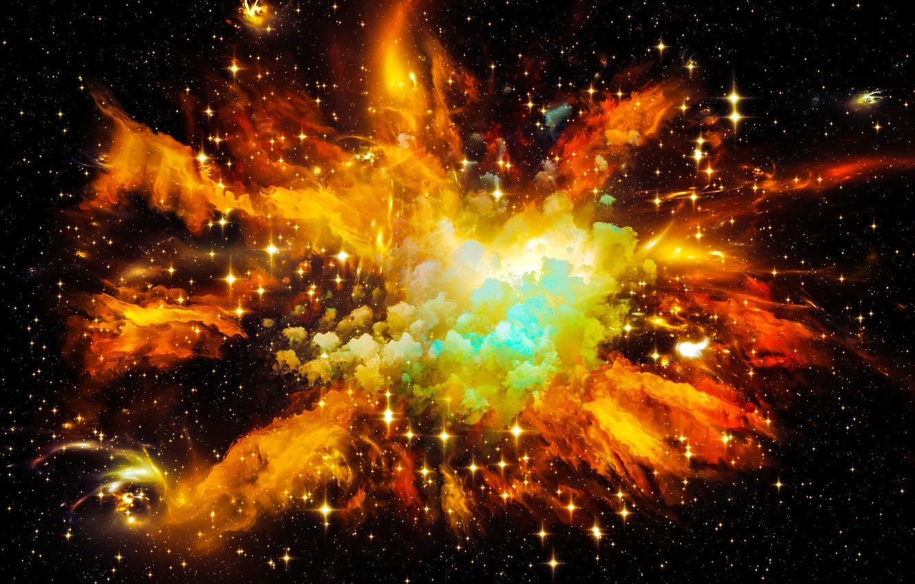 Photo wallpaper space, stars, the universe, space, Universe, background, stars, astral