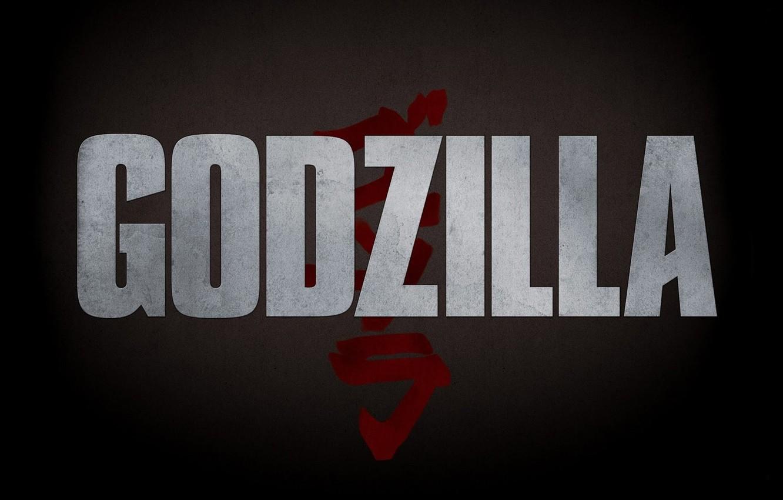 Photo wallpaper Logo, Godzilla, The film, Godzilla, Movie