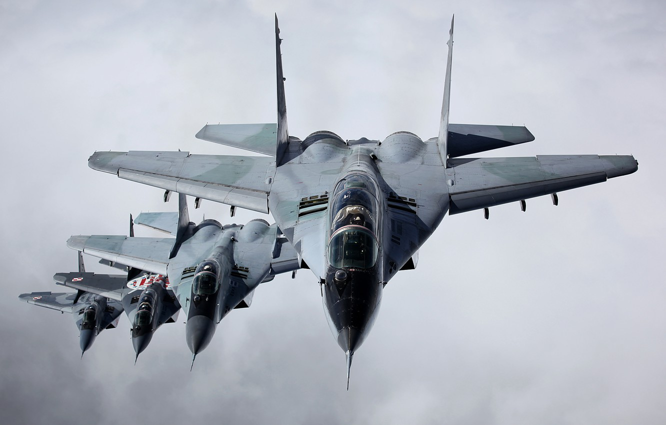 Photo wallpaper fighter, multipurpose, MiG-29, The MiG-29