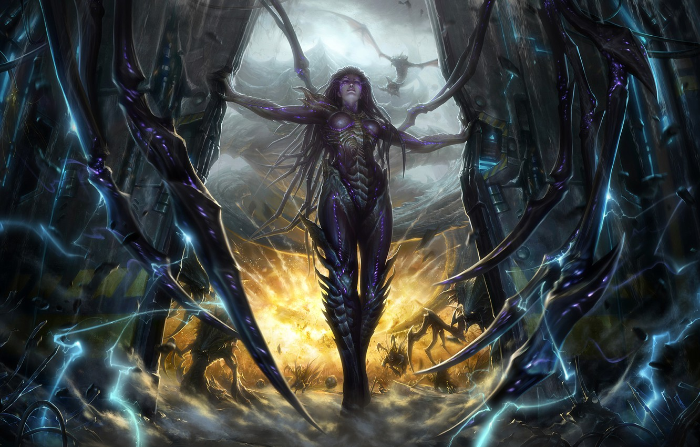Hyperion StarCraft II wallpapers