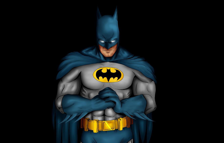 Photo wallpaper the dark background, batman, Batman, comic