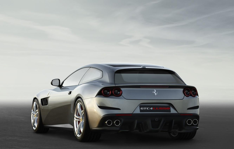 Photo wallpaper Ferrari, 2016, Italian Cars, GTC4Lusso