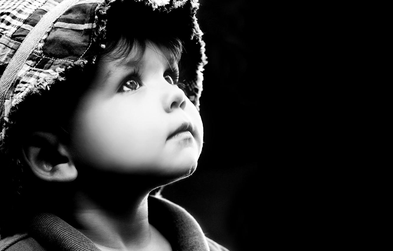Photo wallpaper sadness, children, childhood, loneliness, child, loneliness, sadness, child, childhood, children, looking up, sad little boy, …
