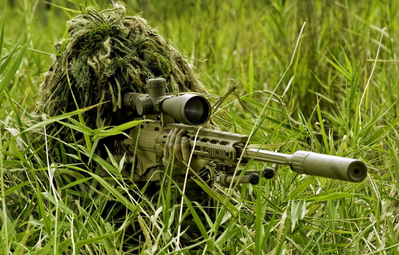 Photo wallpaper rifle, sniper, Remington XM2010