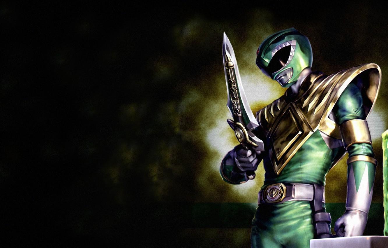 Wallpaper green, power ranger, green ranger, power rangers, dragon