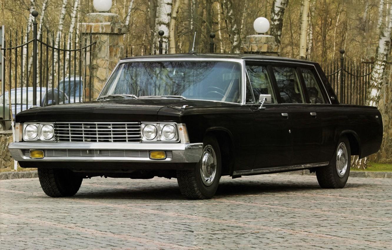 Photo wallpaper USSR, car, limousine, ZIL, ZIL 114