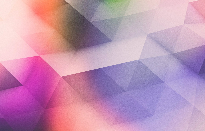 Photo wallpaper line, color, texture, the volume, face, triangle, edge