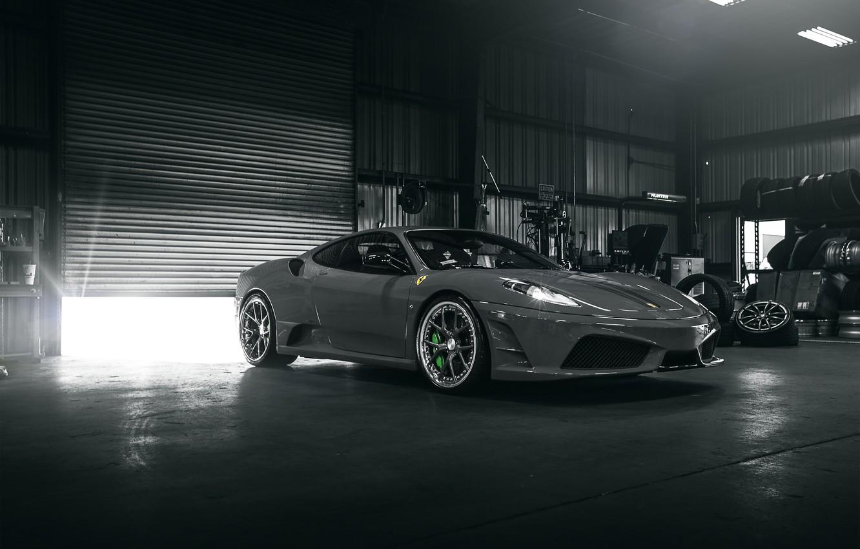 Photo wallpaper F430, Ferrari, sports car, Ferrari, Italy, Scuderia
