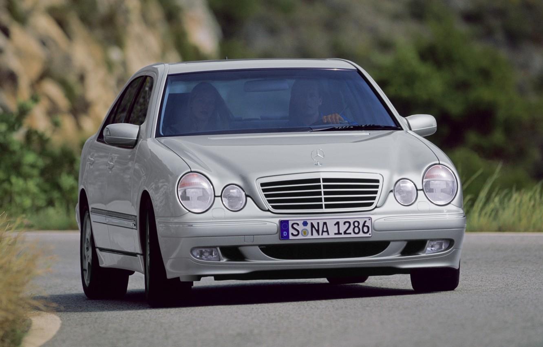 Photo wallpaper Mercedes-Benz, Mercedes, E-class, E-Class, 1999, E-class, W210, Executivklasse, Lupato, Eyed