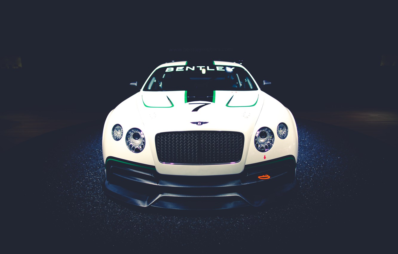 Photo wallpaper Concept, Continental, GT3, front, Bentley, continental, race car, Benthley
