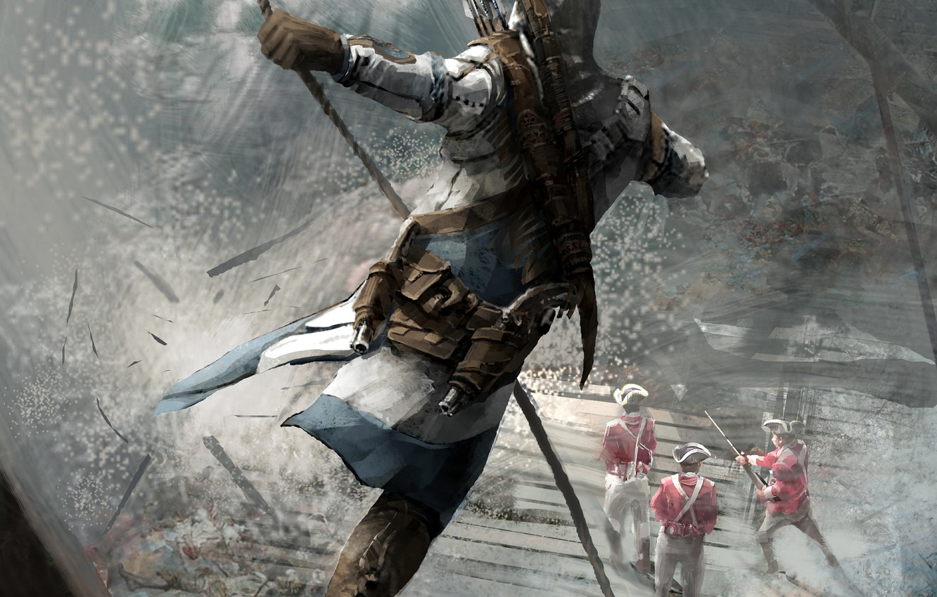 Wallpaper Ubisoft Game Connor Assassin S Creed 3 Images For