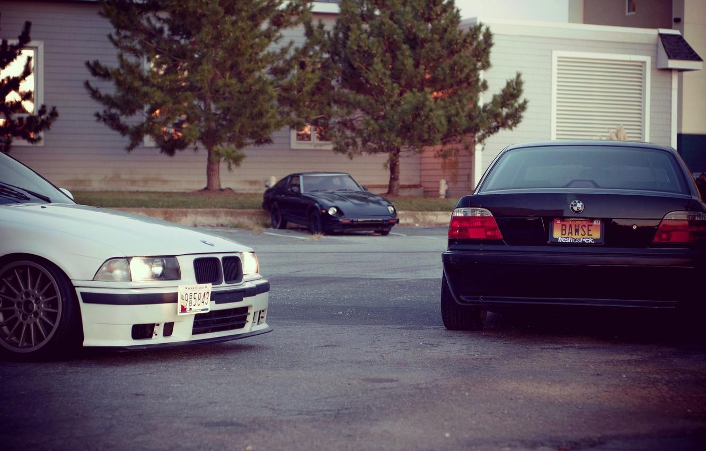 Photo wallpaper tuning, bmw, BMW, stance, E36, E38