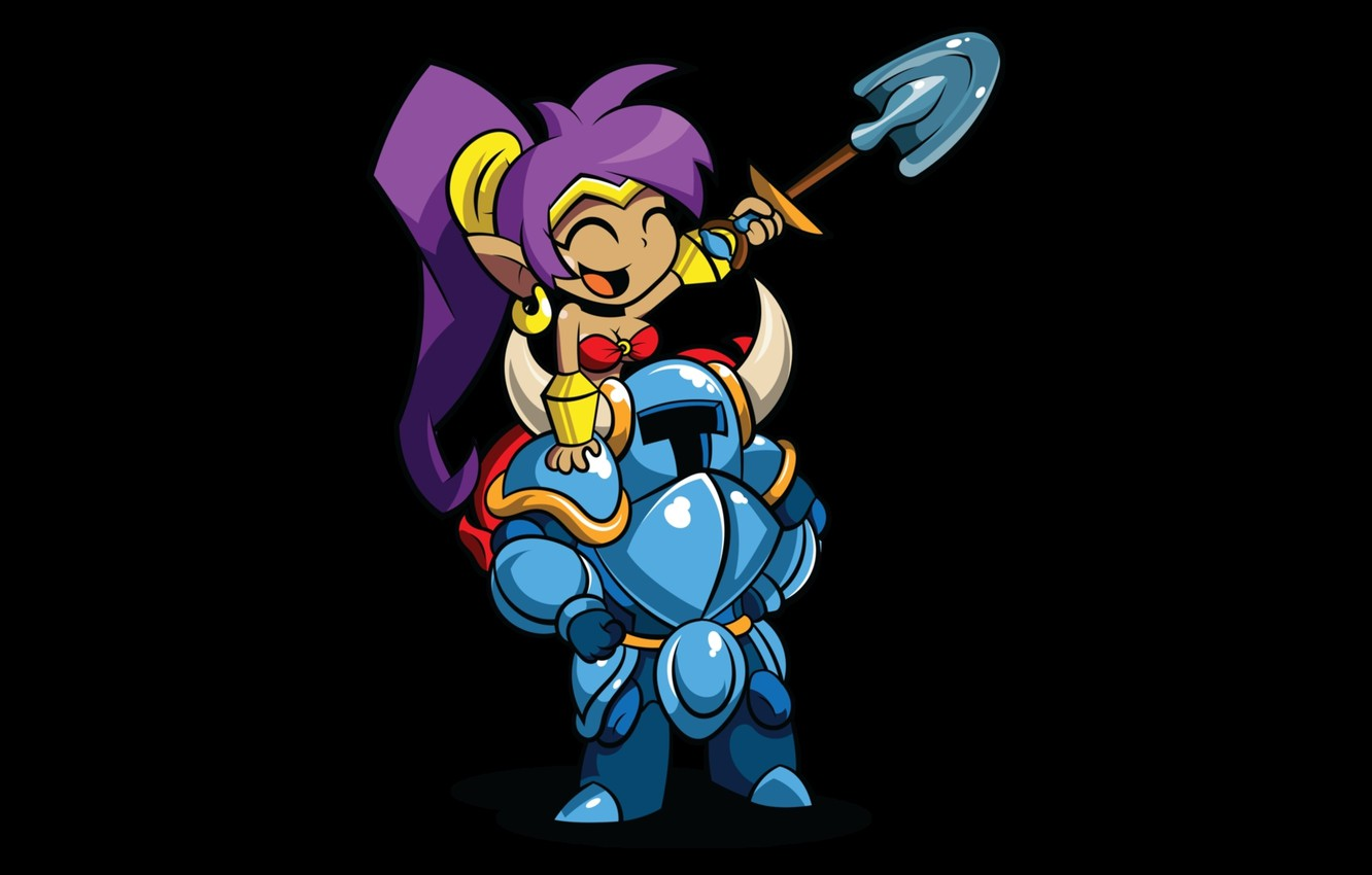 Wallpaper Fun Shantae Shovel Knight Images For Desktop