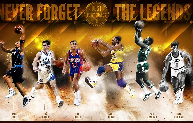 Nba Legends Wallpaper: Wallpaper Sport, Basketball, NBA, Legends, Magic Johnson