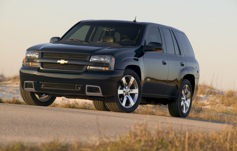 Photo wallpaper Chevrolet, Chevrolet, Black, Trial Blazer, SUV, SUV, TrialBlazer