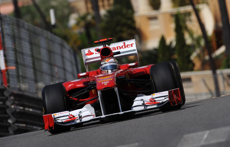 Photo wallpaper 2011, Fernando Alonso, Monaco, Fernando Alonso, monaco, Ferrari 150 Italy, Ferrari 150 italia