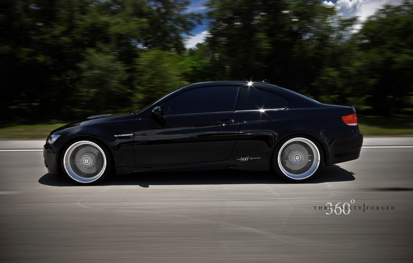 Photo wallpaper bmw, speed, 360 forged