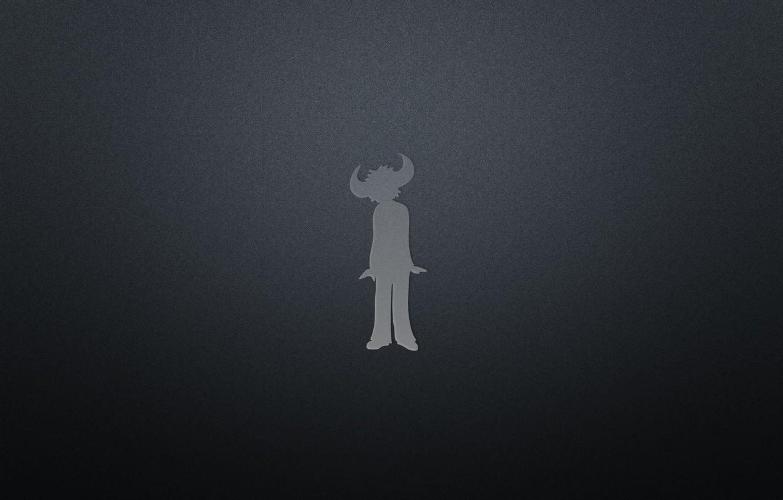 Photo wallpaper Music, Black, Logo, Minimalism, Buffalo Man, Jamiroquai