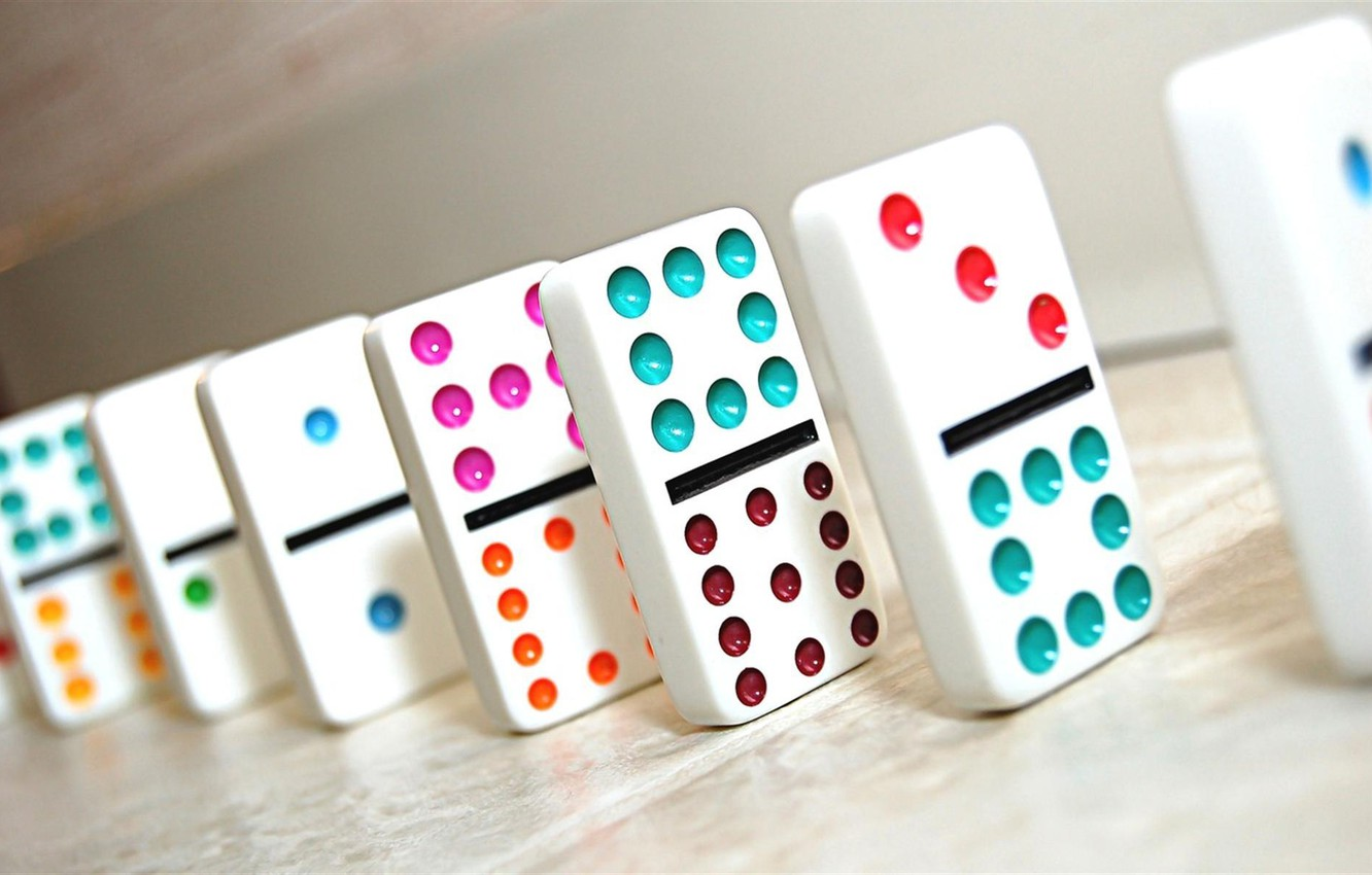 Photo wallpaper the game, Domino, Mexican