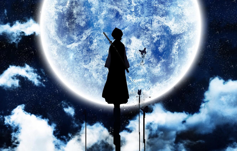 Photo wallpaper the moon, color, Bleach