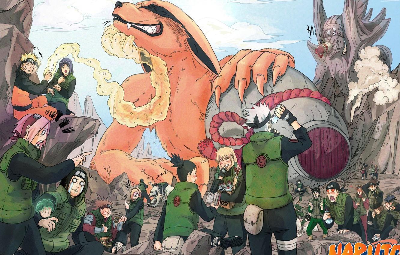 Photo wallpaper Kiba, game, Sakura, anime, ninja, asian, Uchiha, manga, shinobi, Kakashi, Haruno, Hatake, japanese, Naruto Shippuden, …